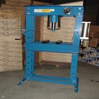 hx120050 50T Shop press with guage